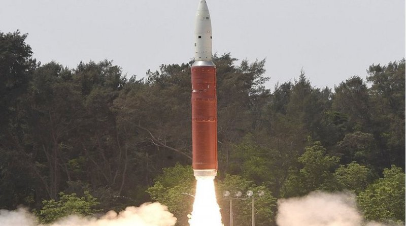 India ASAT Missile. Photo Credit: DRDO