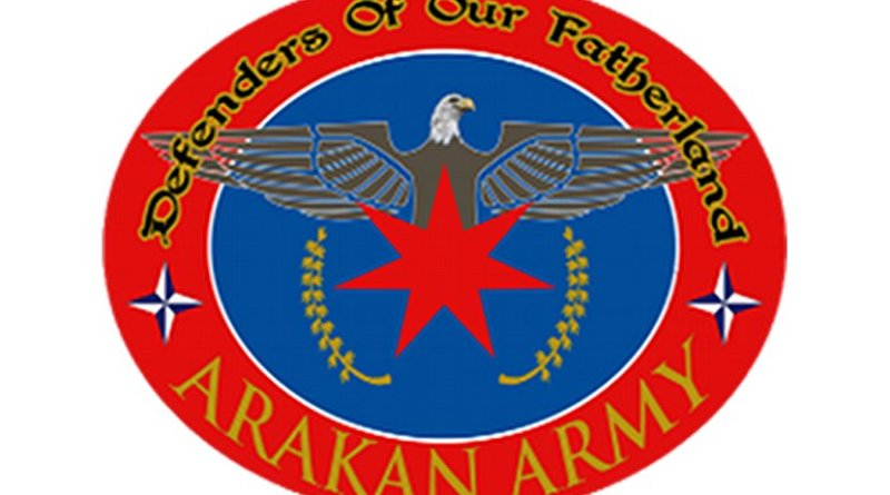 Emblem of Arakan Army. Source: Wikipedia Commons.