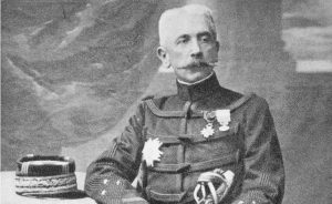 Marshal Lyautey, first resident general of French Morocco. Photo Credit: Eugène Pirou, Wikipedia Commons.