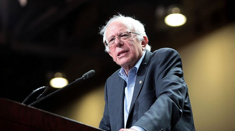Bernie Sanders. Photo Credit: Gage Skidmore, Wikimedia Commons