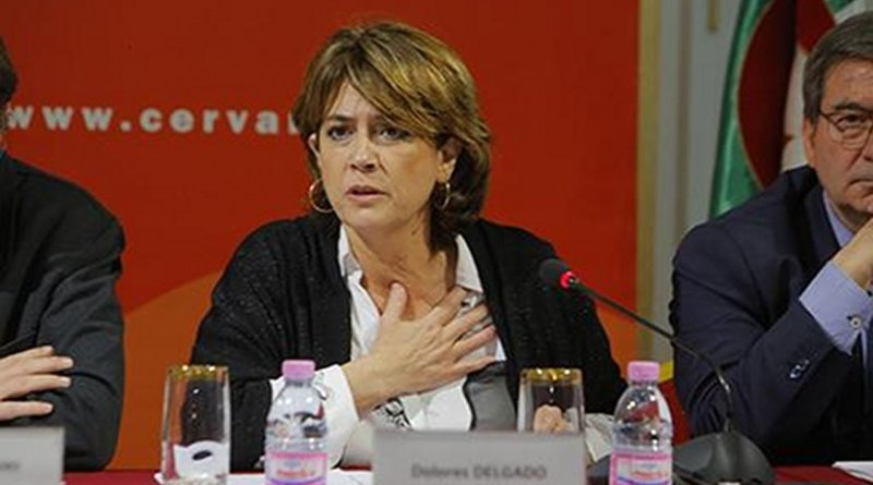 Spain's Minister for Justice Dolores Delgado. Photo Credit: Spanish Ministry of Justice