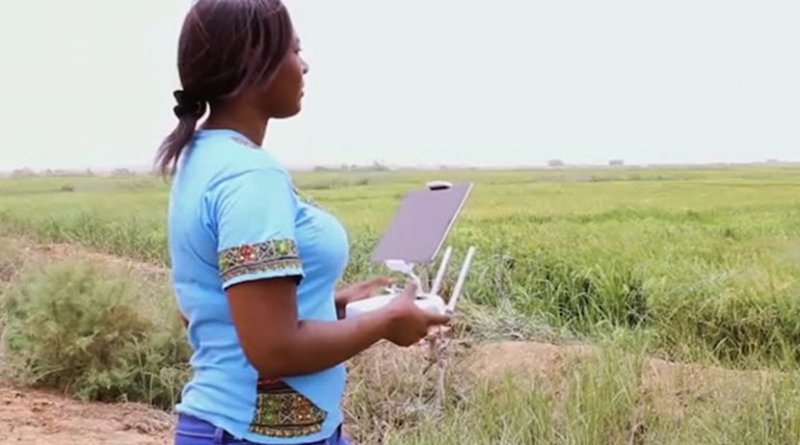 Innovating for change. Snapshot of video This #WomensDay, we're innovating for change. Credit: UN Women.