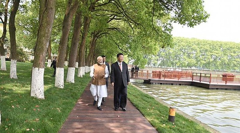 Prime Minister of India, H.E. Shri Narendra Modi and President of People's Republic of China, H.E. Mr. Xi Jinping held their first Informal Summit in Wuhan on April 27-28, 2018. Photo Credit: India PM Office