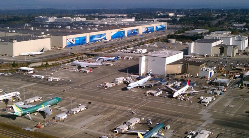 Boeing Everett Factory. Photo Credit: Jeremy Elson, Wikipedia Commons