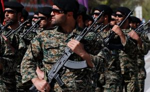 Members of Iran's Islamic Revolution Guards Corps (IRGC). Photo Credit: Tasnim News Agency