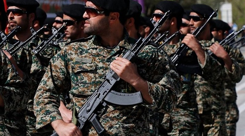 Members of Iran's Islamic Revolution Guards Corps (IRGC). Photo Credit: Tasnim News Agency