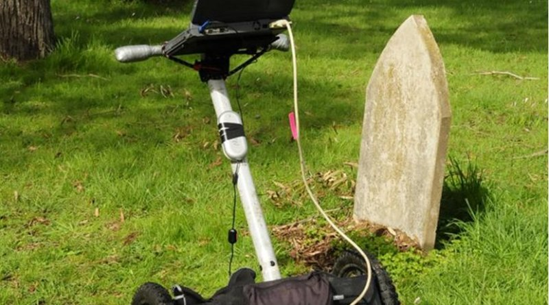 Subsurface imaging technology helps find lost graves in Australia. Credit Flinders University