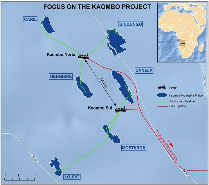 Kaombo project. Source: Total