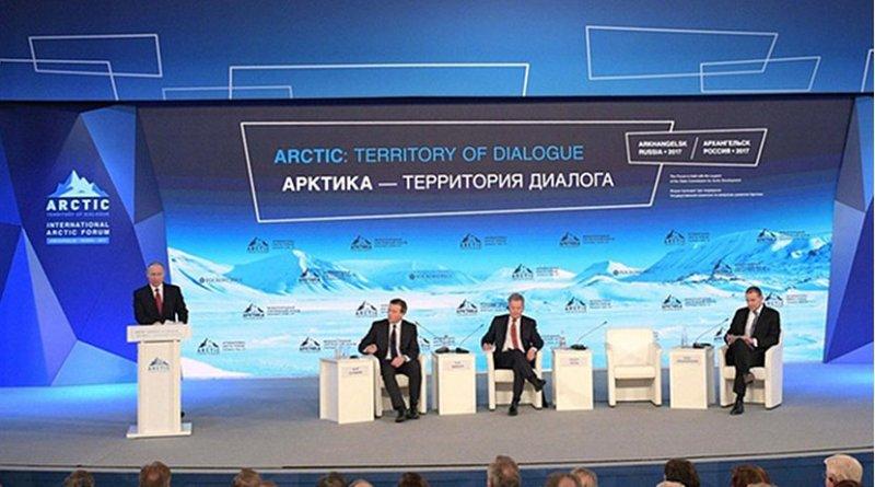 V International Arctic Forum (IAF) Arctic: Territory of Dialogue. Photo Credit: Kremlin.ru