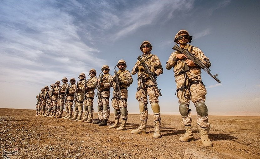 Iran's IRGC. Photo Credit: Tasnim News Agency