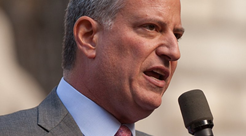 Bill de Blasio. Photo Credit: Kevin Case, Wikipedia Commons