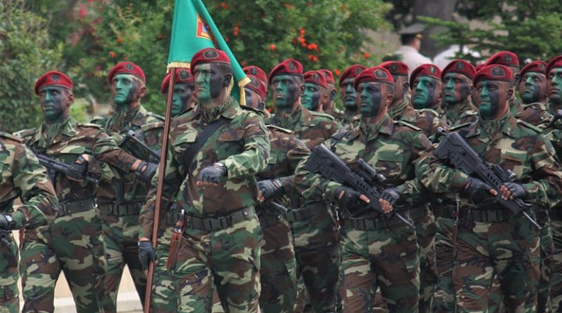Members of the Azerbaijani Special Forces during a military parade
