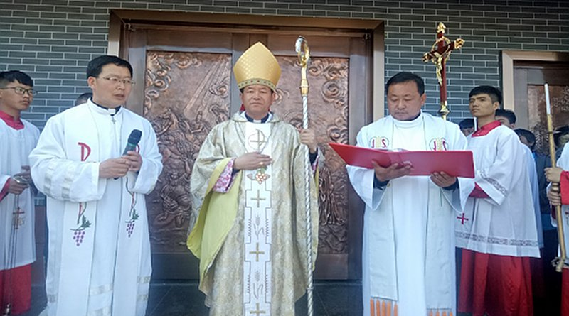 Sacred Heart Church had its May 2 consecration Mass presided over by Bishop Peter Fang Jianping. (Photo supplied)