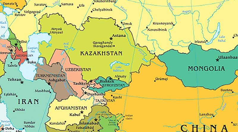 Central Asia. Source: CIA Factbook
