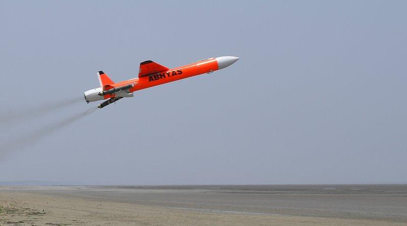 India's Abhyas drone (UAV). Photo Credit: India Defense Ministry