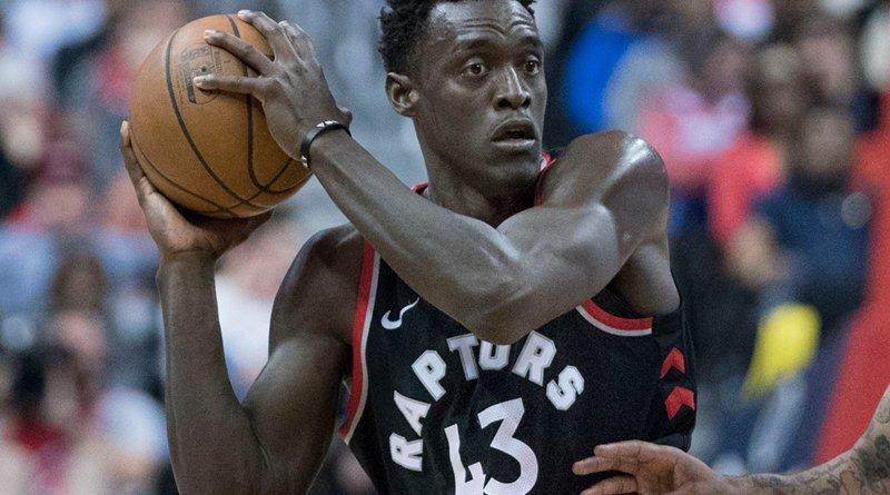 Pascal Siakam of the Toronto Raptors. Credit: Keith Allison, Wikipedia Commons.