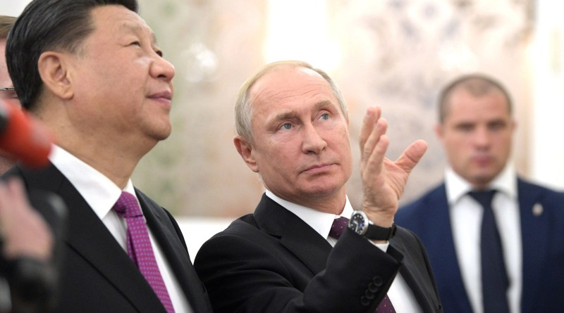 Russia's President Vladimir Putin and China's President Xi Jinping. Photo Credit: Kremlin.ru