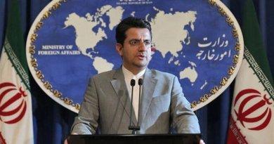 Iranian Foreign Ministry spokesman Abbas Mousavi. Photo Credit: Tasnim News Agency
