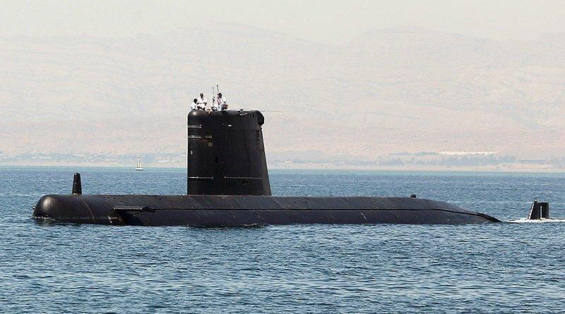 Pakistan submarine PNS Hasmat in Persian Gulf. Photo Credit: Tasnim News Agency