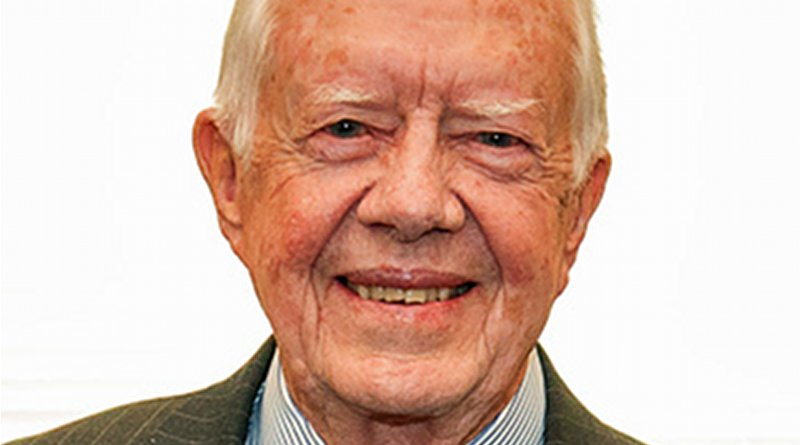Former US President Jimmy Carter. Photo Credit: Commonwealth Club, Wikimedia Commons