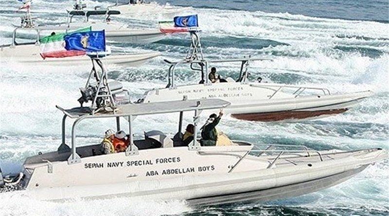 Iran's IRGC Navy. Photo Credit: Tasnim News Agency