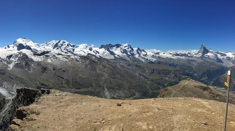 Zermatt in the Western Alps. Credit F. von Blanckenburg