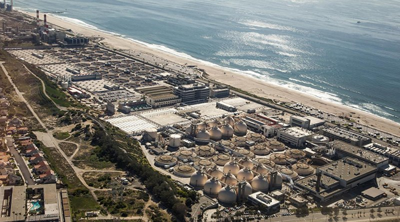 The Hyperion Water Reclamation Plant on Santa Monica Bay in Los Angeles is an example of a coastal wastewater treatment operation that could potentially recover energy from the mixing of seawater and treated effluent. Credit Doc Searls / Flickr