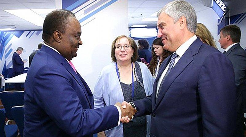 President of the National Assembly of the Republic of Angola, Fernando da Piedade Dias dos Santos