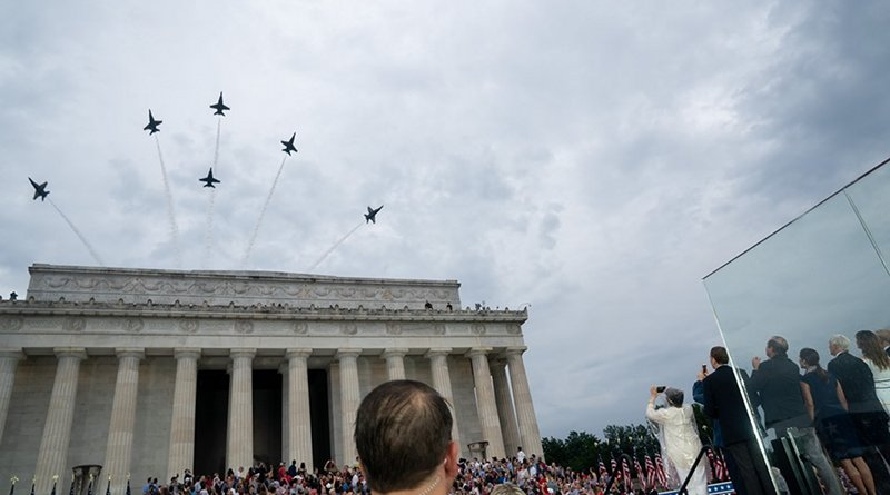 4th of July Celebration in Washington DC 2019. Photo Credit: The White House