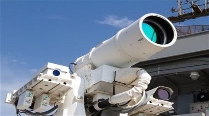 Iran Laser Cannon. Photo Credit: Tasnim News Agency