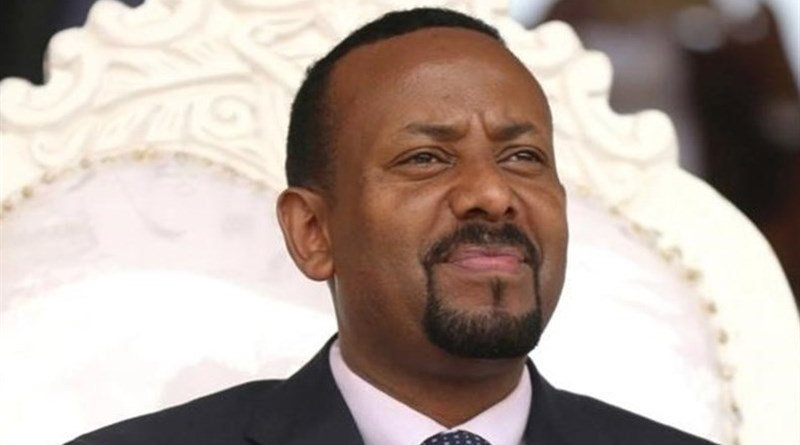 Ethiopia's Prime Minister Abiy Ahmed. Photo Credit: Tasnim News Agency