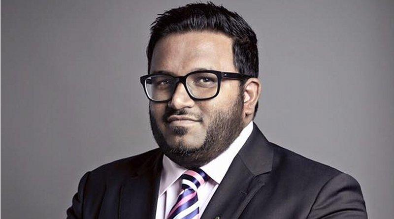 Maldives' Ahmed Adeeb. Photo Credit: Justshinan, Wikipedia Commons