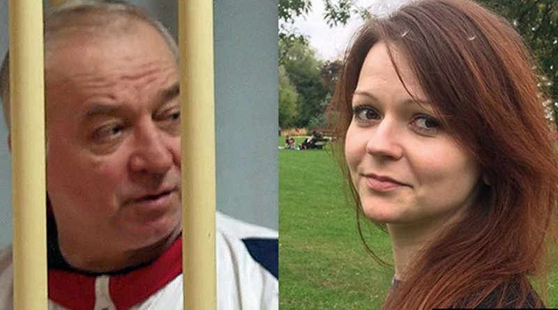 Sergei Skripal and his daughter Yulia. Photo Credit: RFE/RL