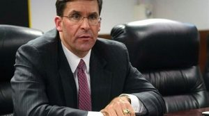 US Defense Secretary Mark Esper. Photo Credit: Tasnim News Agency