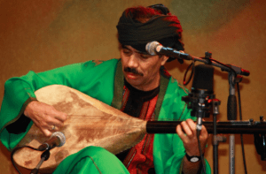 Bachir Attar, the soul and leader of the Jajouka Master Musicians