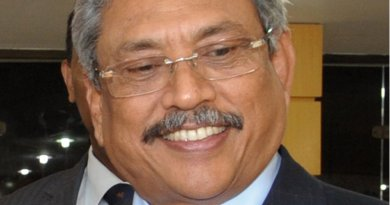 Sri Lanka's Gotabhaya Rajapaksa. Photo Credit: Mr Jorge Cardoso / Ministério da Defesa, Wikipedia Commons