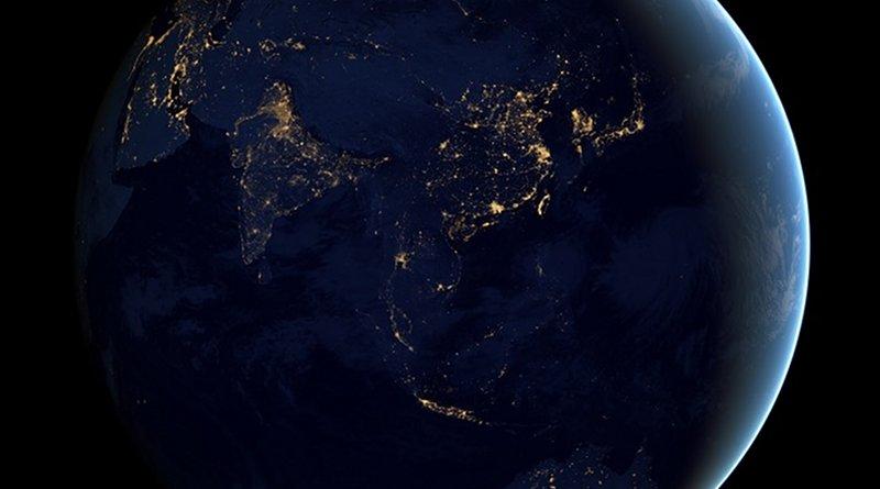 asia satellite india korea china