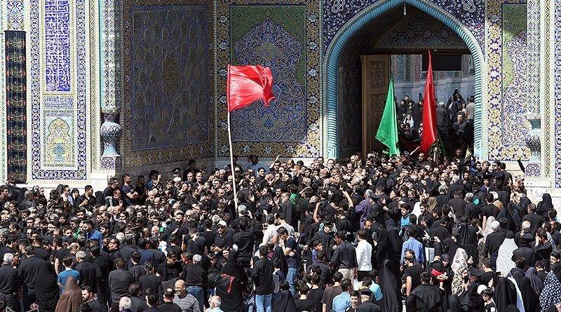 Shiite Muslims commemorate Ashura. Photo Credit: Tasnim News Agency