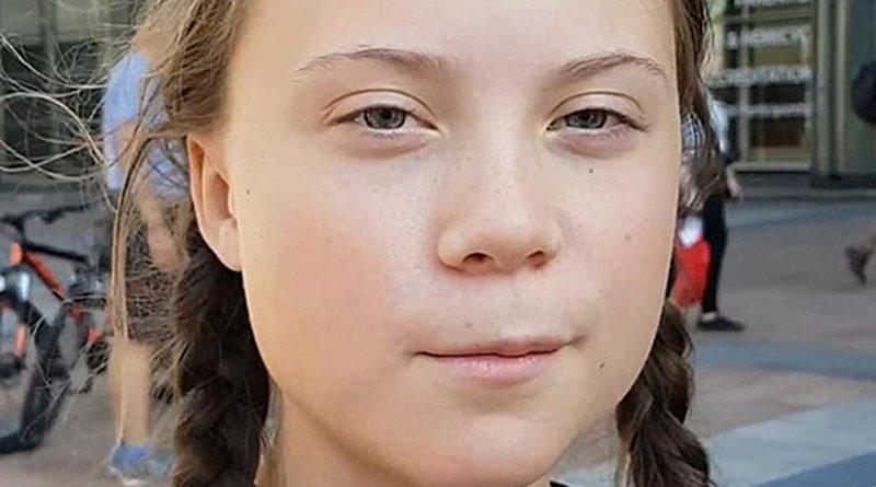 Greta Thunberg. Photo Credit: Jan Ainali, Wikipedia Commons.
