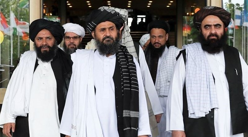 File photo of Afghan Taliban in Doha, Qatar. Photo Credit: Tasnim News Agency