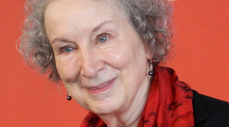 Margaret Atwood. Photo Credit: ActuaLitté, Wikipedia Commons.