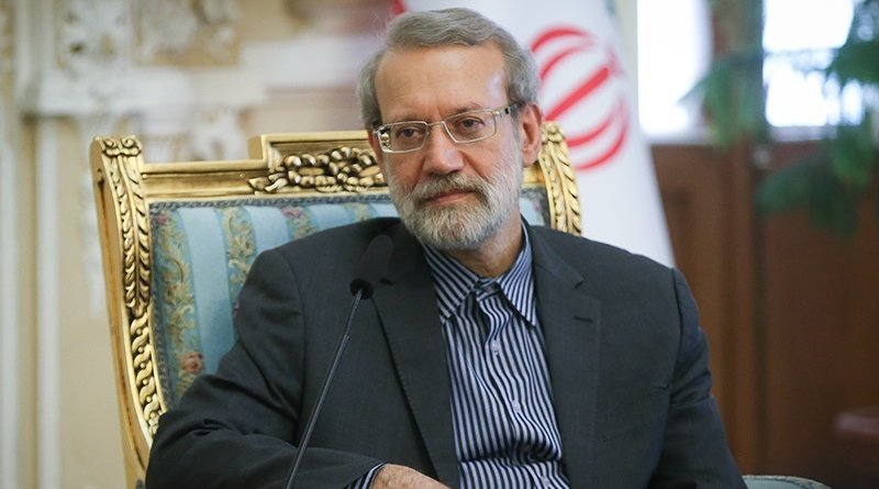 Iran's Ali Larijani. Photo Credit: Tasnim News Agency