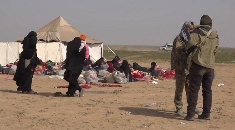 Camp in al-Hol, Syria. Photo Credit: VOA, Wikipedia Commons