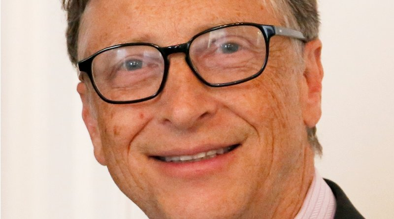 Bill Gates. Photo credit: UK Department for International Development, Wikipedia Commons