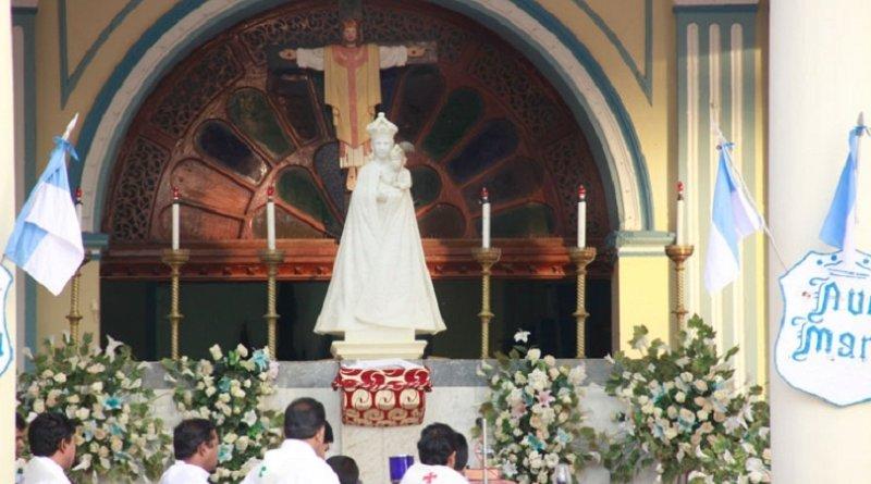 Sri Lanka's historic Roman Catholic church, Shrine of Our Lady of Madhu. Photo Credit: Sri Lanka government