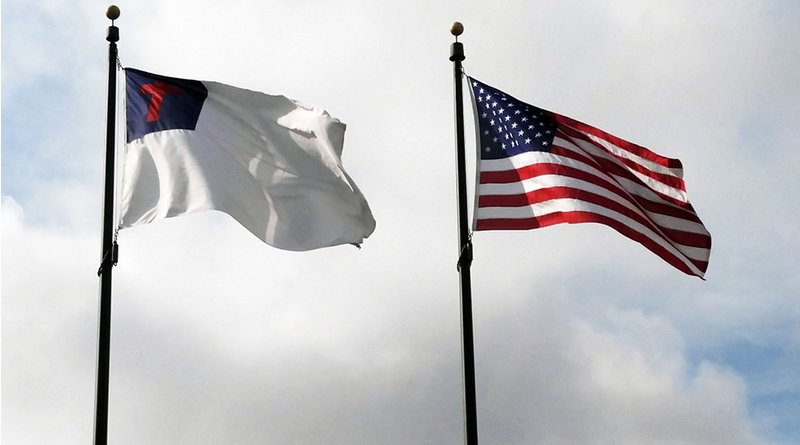 flag christian united states