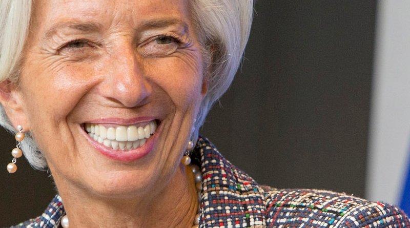 Christine Lagarde. Photo Credit: European Parliament