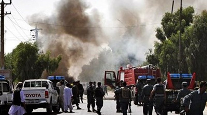 Car bomb in Kabul, Afghanistan. Photo Credit: Tasnim News Agency
