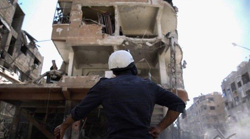 White Helmets in Syria. Photo Credit: Tasnim News Agency
