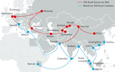 Beijing plans to send 150 million travelers to countries along the Belt and Road route in the next five years, with expected expenditures of $200 billion during this period. Analysts believe that Iran is critical to China's ambitions.